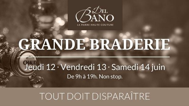 Grande Braderie chez Del Bano Limoux - Barascud