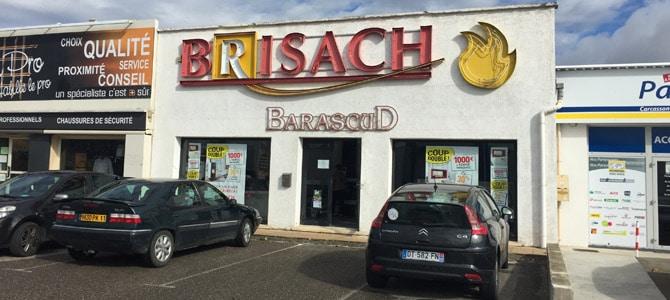 Barascud - ouverture Brisach carcassonne
