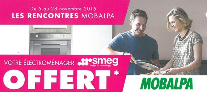 Rencontres Mobalpa Barascud - électromenager offert sur l'achat d'une cuisine