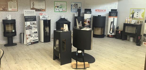 Barascud - ouverture d'un nouveau magasin de cheminée à Limoux avec Brisach - Skia - Scan